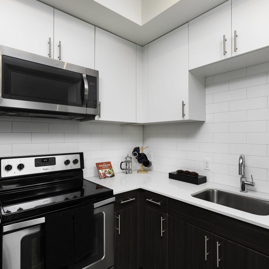 Kitchen at South Seattle Apartment For Rent