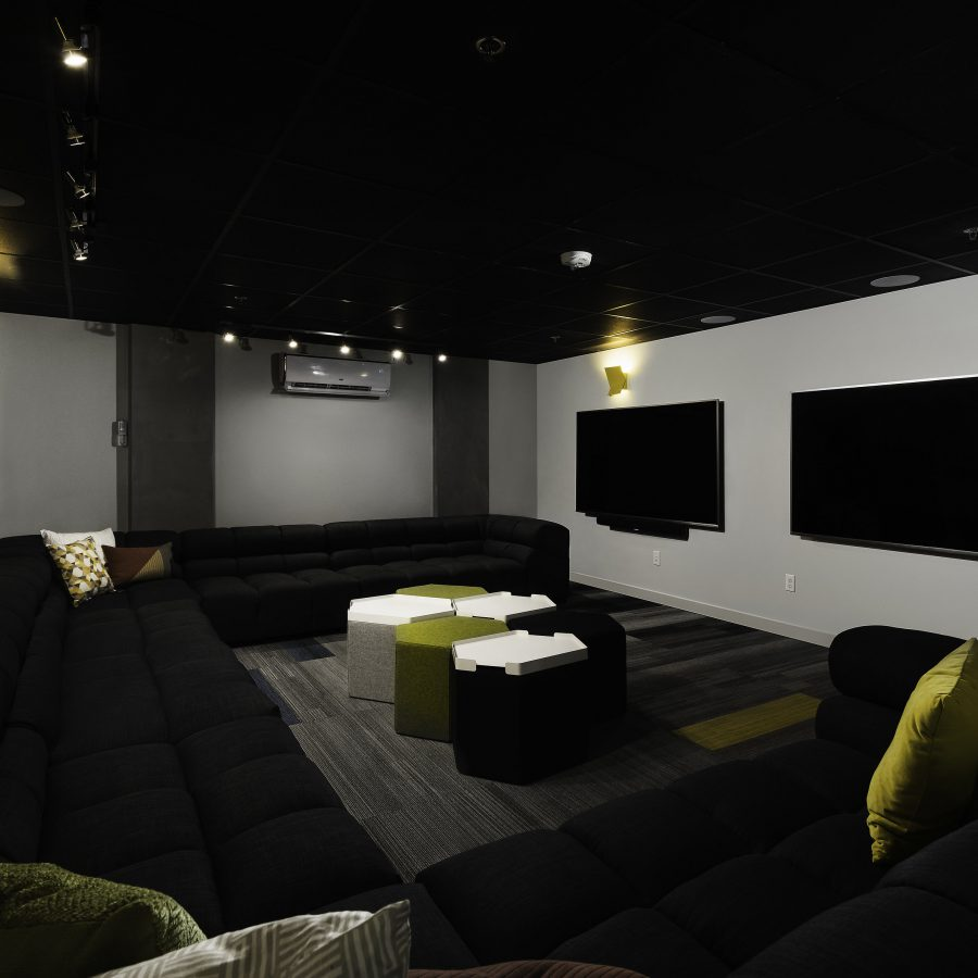 Movie Theater for residents at Apartment in South Seattle, WA